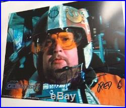 William Bill Hootkins 8x10 Autograph Star Wars Red 6 signed Celebration photo