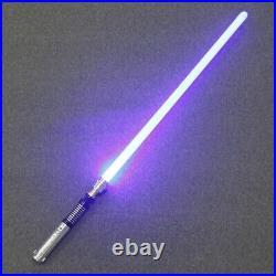 YDD Star Wars Luke Skywalker Lightsaber Silver Metal 16 Colors RGB Light Real Re